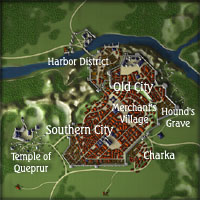 Town Map of Nyermersys