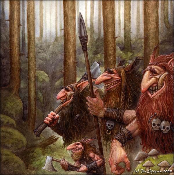 dans fond ecran trolls et gnomes forest_trolls