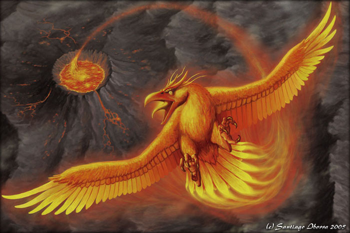 "The Phoenix, the ""Bird of Flames"""
