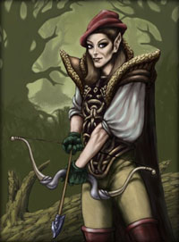 The Elven Race (Styreians)