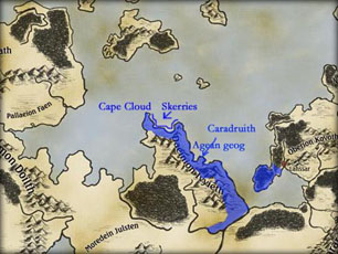 The Gondolith mainland